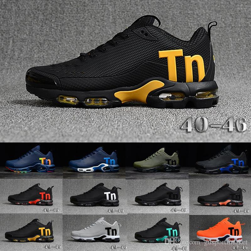 2019 Newest Men Zapatillas TN Designer Sneakers Chaussures Homme Men Basketball Shoes Mens Mercurial TN Running Shoes Eur40-46