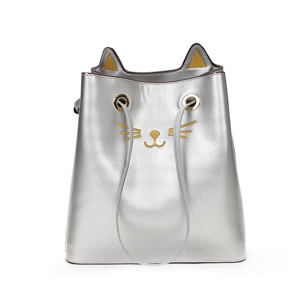 6574619df Lady Girls Cute Cat Ears Handbag Casual Crossbody Messenger Bags Fashion  Korean Women Pu Leather Shoulder Bag Gifts Popular Good Quality Bags For  Men ...