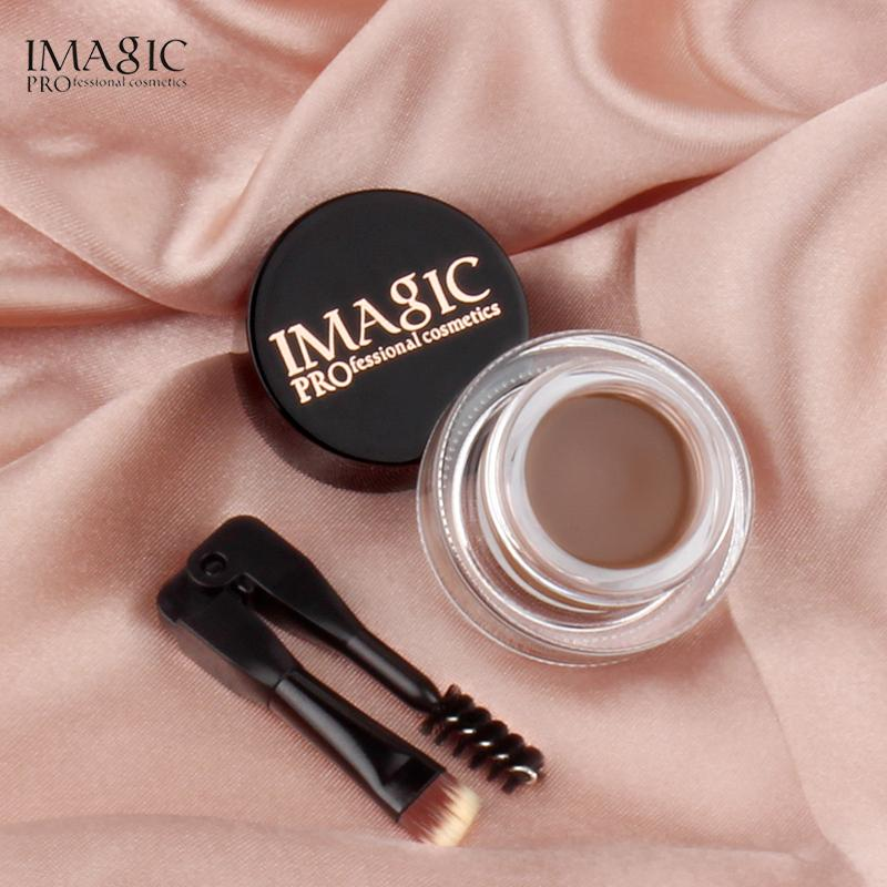 IMAGIC Professional Eye Brow Gel Tint Natural Long Lasting Waterproof  Eyebrow Eyebrow Cream Makeup Cosmetics With Brush