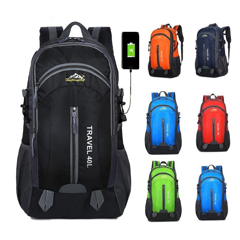 Men's Bags Men Women Sports Bag Usb Charging Basketball Bag Outdoor Sports Backpack Laptop Backpack Travel Outdoor Bag Big Clearance Sale