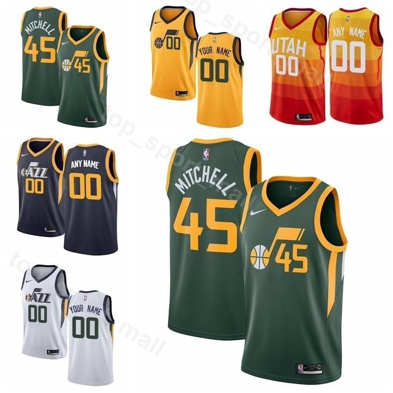 2c347d589 ... france 2019 man kids woman utah printed 15 derrick favors jersey  basketball kyle 26 korver 11