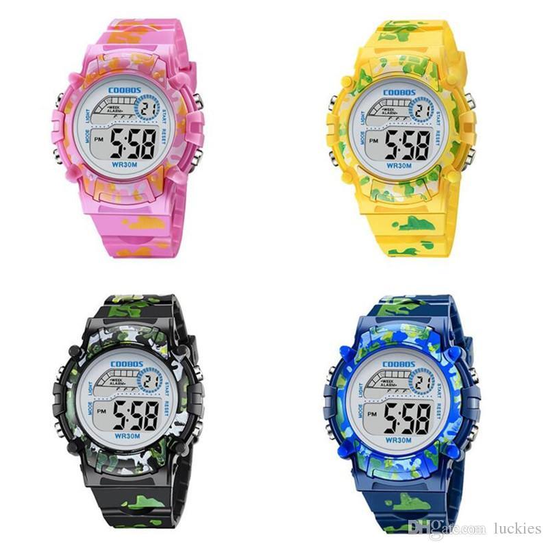 19587743583c Compre Marca Reloj De Pulsera Deportivo Para Niños Reloj Para Niños Relojes  Para Niños Relojes Para Niñas Reloj Infantil Reloj LED Digital Para Niño  Niña A ...