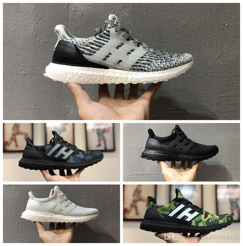 5090a958b7719 2019 Ultra Boost 3.0 Triple Black And White Primeknit Oreo CNY Blue Grey  Men Women Running Shoes Ultra Boosts Ultraboost Sport Sneakers From  Lm491094146