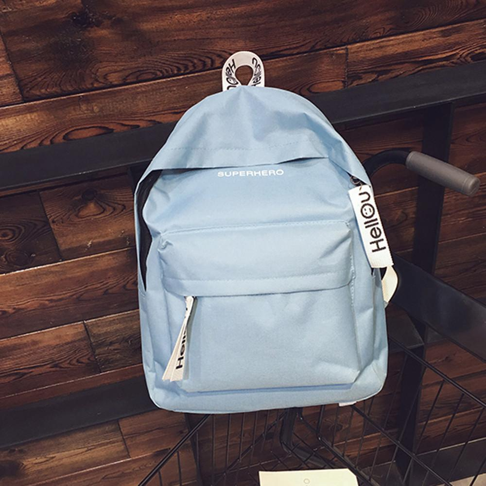 Wholesale-Women Canvas Bags Men Oxford Couple Schoolbag Travel Hiking Bag Solid Collection Luminous Casual Travel 5M27