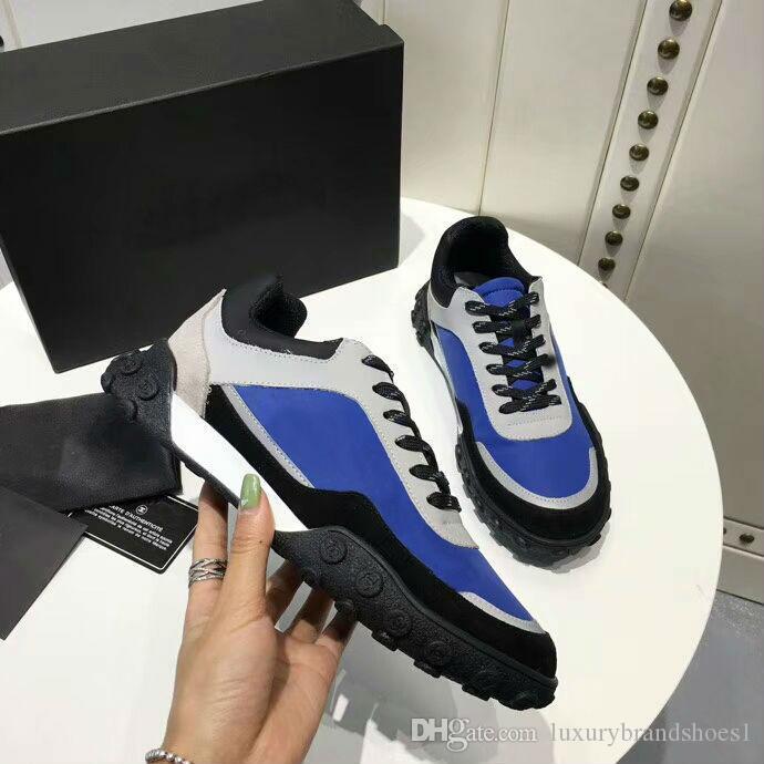 9721aa9a6 2019 Women Men Designer Shoes Original Fashion Logo Sneakers Men ...