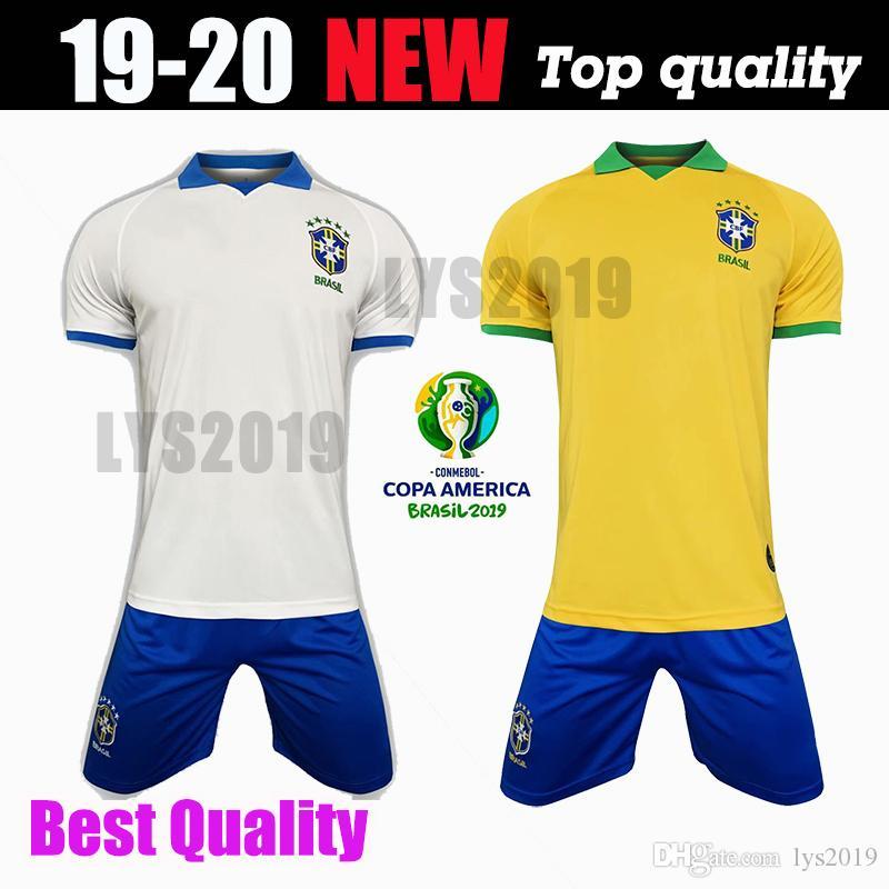 100% authentic 49ed1 547e0 2019 Brazil American Cup football team jersey Brazilian men jersey FIRMINO  football jersey women s World Cup custom football shirt