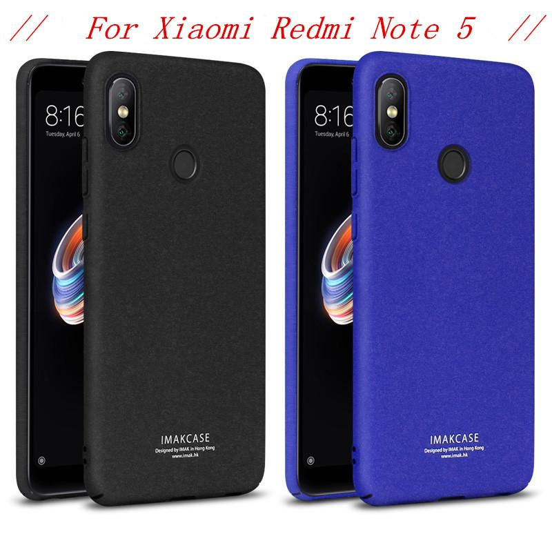 sale retailer ae24f c0539 Redmi Note 5 Case Xiaomi Redmi Note 5 Pro Case Matte IMAK Cowboy Series  Phone Case sFor Xiaomi Redmi Note 5 AI Ring Holder