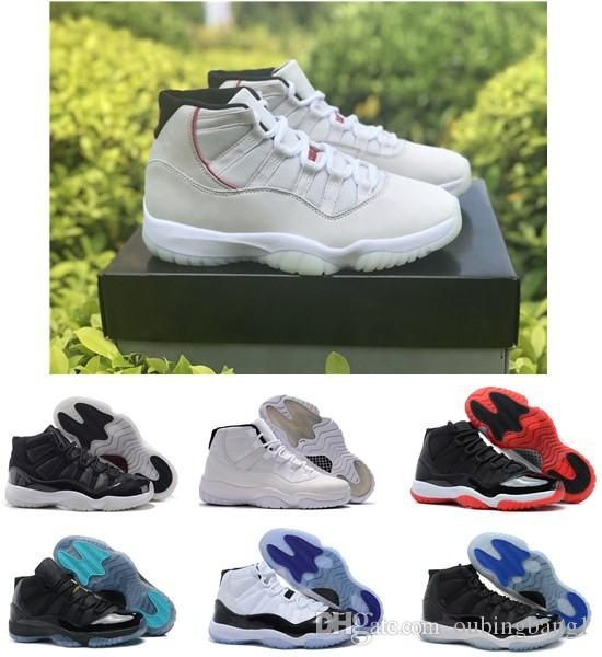 2e235d676d22ac Platinum Tint Good Quality 11 Ovo Space Jam Bred Concord 23 45 Basketball  Shoes Men Women Shoes 11s Gym Red Navy Gamma Blue 72 10 Sneakers Basketball  Shoes ...