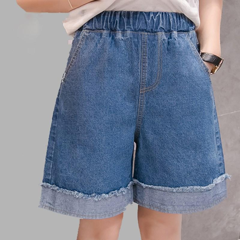 36cfb06b47 2019 European Style Women Shorts Fashion Frayed Denim Shorts Washed Sexy  Summer Jean Trousers From Houmian, $33.56 | DHgate.Com