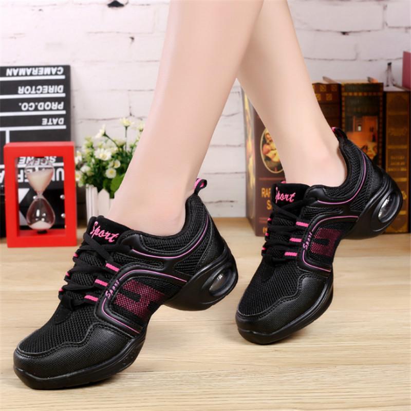 41954e732 Slip On Jazz Dance ShoesGenuine Leather For Men Women Kids