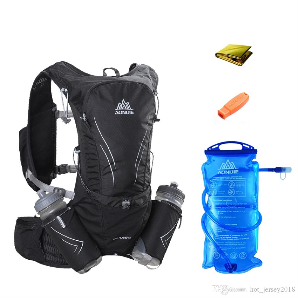 7e00265bc327 AONIJIE Men Women Running Backpack Hydration Vest Running Water Pack Vest  Outdoor Sports Racing Hiking 2L Water Bladder #234891