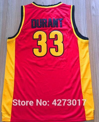 97ad90998 2019 Oak Hill High School 33 Kevin Durant Basketball Jerseys For Sport Fans  Embroidery And Stitched Wholesales Lowest Price NCAA From Hytopjersey