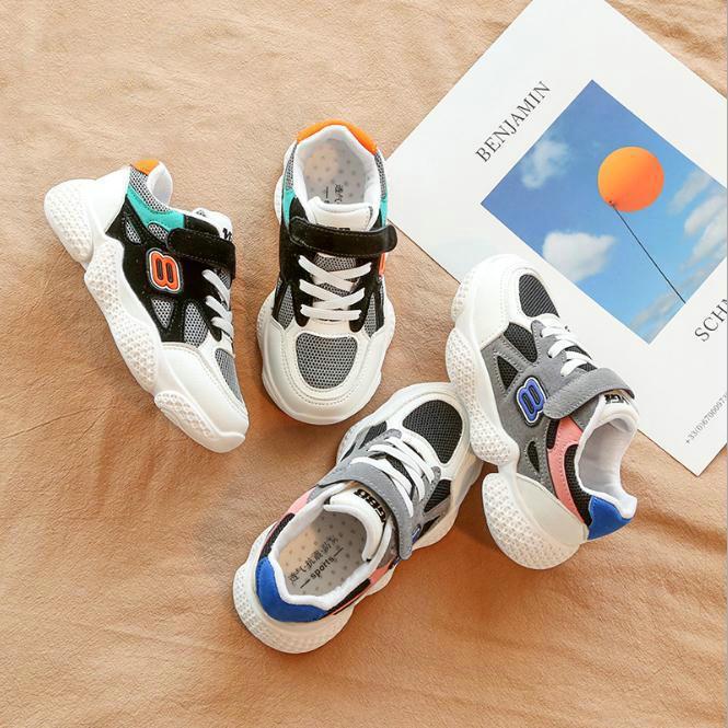 buy online c8a32 a7ace 2019 neue Kinderschuhe Kinder Jungen Mädchen Star Mesh Breathable Sport  Running Sneakers Schuhe Größe 21-30