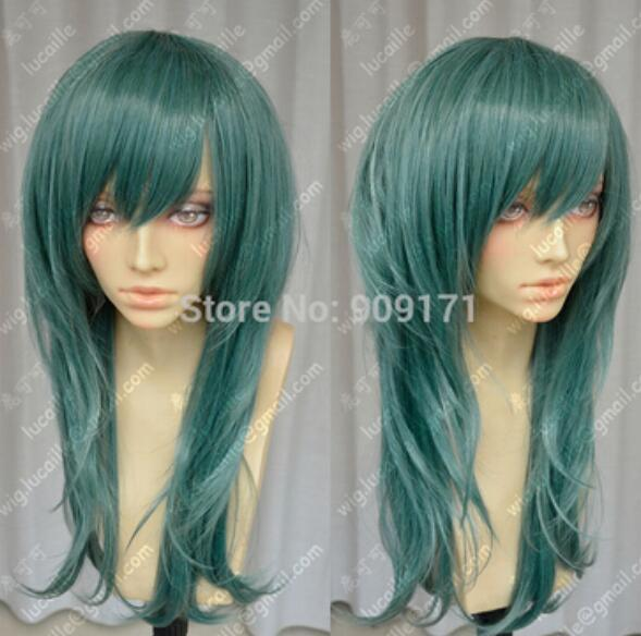 COS Heat Resistant Wig New Long Dark Green Women S Cosplay Costume Party  Wigs Cheap Wig Synthetic Lace Wigs With Baby Hair From Dingyingying8889 a7d1f9517
