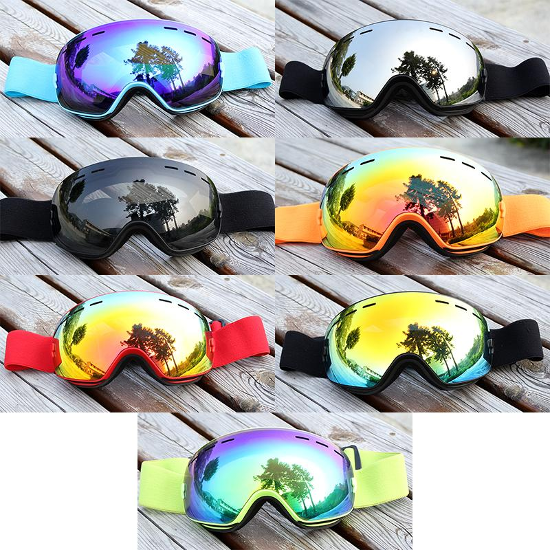Anti-fog Ski Goggles Windproof Snowmobile Eyewear Glasses Uv400 Double Layers Men Women Snowboard Skiing Sport Snow Eyewear Customers First Security & Protection