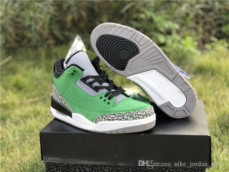 8ed529b9729 2019 3 Tinker PE Oregon Ducks Green Suede Outdoor Shoes Fashion With O  Logos Mens High Quality 2019 Newest Athletic Designer Trainer From  Nike_jordan_shoes, ...