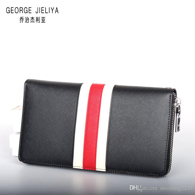 c9925df04318 Brand new wallet men and women holding a purse single zipper banknotes  Luxury p wallet folder card wallet no box