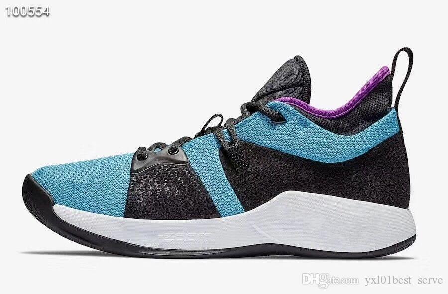 c5a104186e4f9 Compre 2019 Recién Llegado Uptempo PG 2 Blue Lagoon Paul George Zapatos De  Baloncesto Para Zapatos De Hombre De La Mejor Calidad Zapatillas Deportivas  De ...