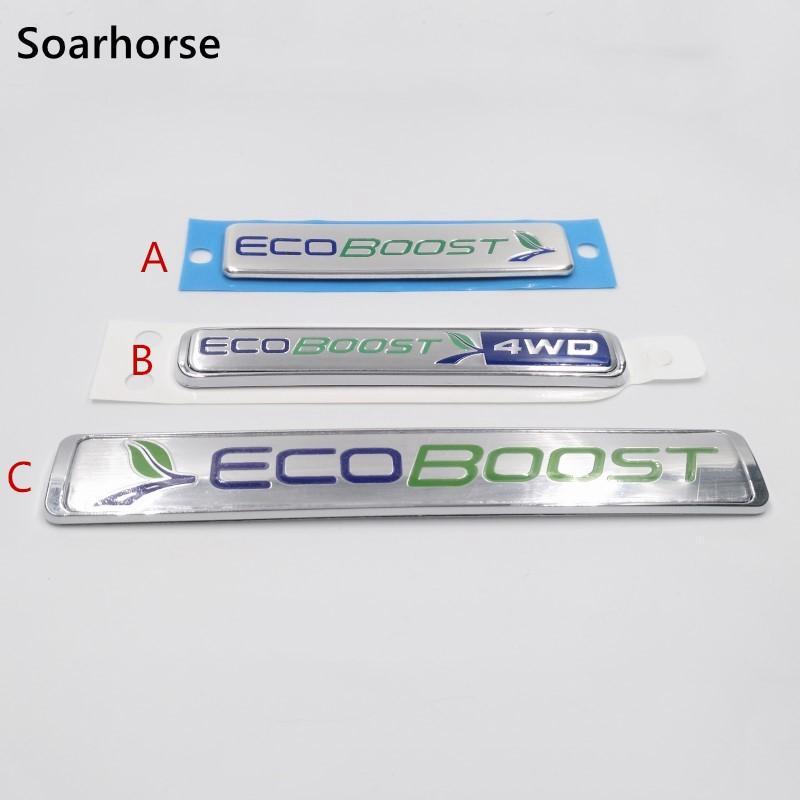 Auto Ecoboost Emblem Aufkleber Für Ford Focus Kuga Escape F 150 Heckklappe Ersetzen Aufkleber