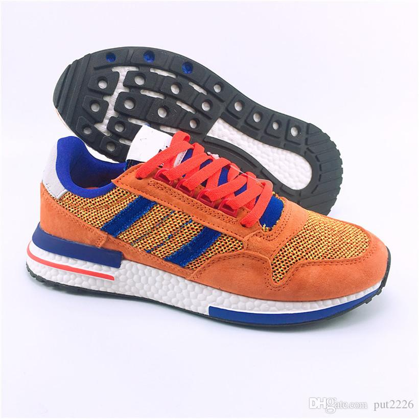 2019 New ZX 500 RM Goku Men 500 Sneakers ZX500 OG The Dragon Ball Z Grey  Womens Mens Designer Shoes Casual Size 36-44 Dragon Ball Z Shoes Zx 500 Rm  Shoes ... 41022d6e7