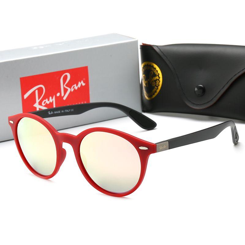 854d590682c3b Fashion Rays Sunglasses Men Women Sun Glasses Brand Designer 4296 Justin  Mirror Gafas De Sol Bans Designer Male Eyewear With Cases Online Boots  Sunglasses ...