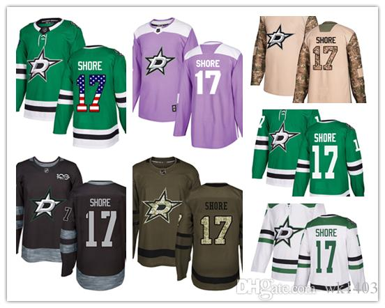 cad0735f3 2019 Dallas Stars Jerseys  17 Devin Shore Jersey Hockey Men Women Youth  White Green Home Breakaway Stiched Authentic USA Flag Fashion Jerseys From  Wk1403