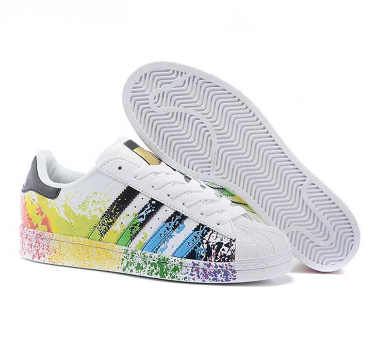 6092b45de69 Compre Adidas Superstar Foundation Shoes Superstar Shoes Running Shoes  Envío Gratis Para Mujer Zapatos Hombres Zapatos Super Star Casual Venta  Caliente ...