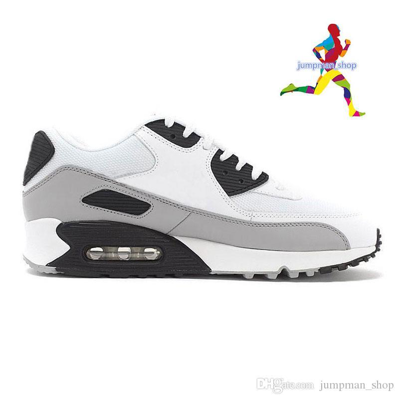 nike air max 90 Neue herrenschuhe klassische 90 frau schuhe mintgrün schwarz rot weiß trainer kissen oberfläche atmungsaktiv casual shoes größe 36 45