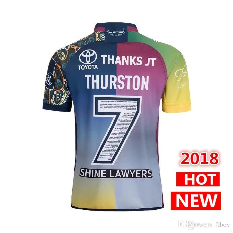 95c618939d9 2019 Best Quality ! TESTIMONIAL COWBOYS Jersey 2018 2019 Jt Testimonial  Rugby Jerseys Shirt Nrl Jersey Cowboys Shirts S 3xl From Ftboy, $23.4 |  DHgate.Com