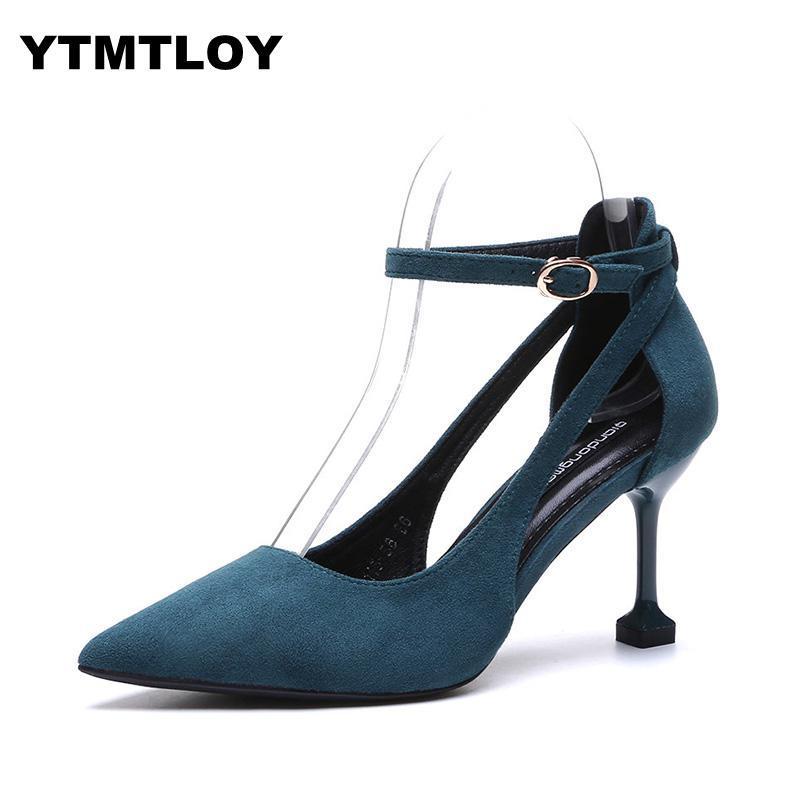 a10d34529b888 Women Sweet Western Style Pointed Toe Suede Stiletto Heel Pumps Cut ...