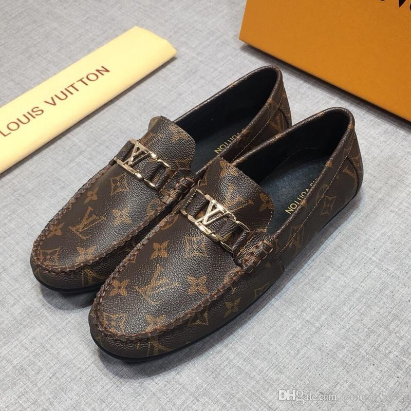58dbff8522 Compre 2020 4 Modelo Toe Zapato De Vestir Diseñadores Italianos Para Hombre  Zapatos De Vestir De Cuero Genuino Negro Zapatos De Boda De Lujo Hombres  Zapatos ...