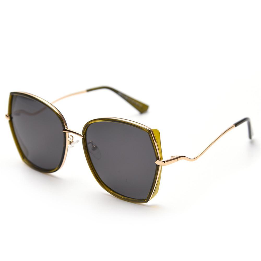 f93cd81f6c Retro Square Sunglasses Men Women Luxury Metal Sun Glasses Vintage Half Frame  Eyewear Shades For Ladies Clear Lens Sunglases FML Baby Sunglasses Designer  ...