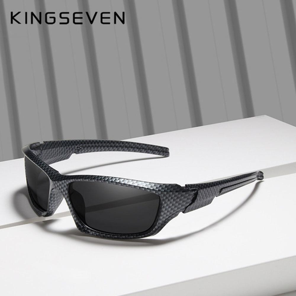 fc85e806706 Kingseven Brand Polarized Sunglasses Men Goggles Carbon Fiber Frame Tr90  Material Fishing Driving Eyewear Sun Glasses Oculos C19022501 UK 2019 From  Tong06