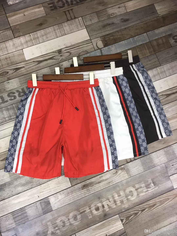 d5ceeaa408 2019 High Street 2019 Summer Mens Swimwear Boys Board Shorts Pants Navy  Beach Surfing Shorts Men Swimming Trunks Swim Short Swimsuit Men Swim From  Fj6688, ...