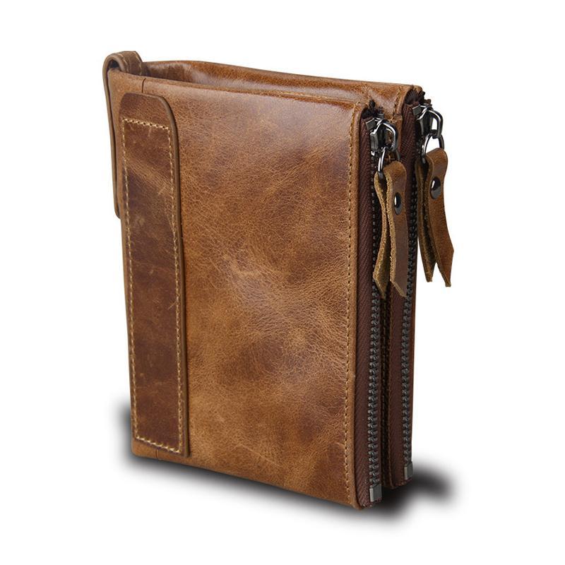 2ee80d4b75 Genuine Leather Wallet Men Brand Wallets Clutch Bags Fashion Designer Male  Long Wallets Luxury Black Men Business Wallet Pb01 Girl Wallets Tignanello  ...