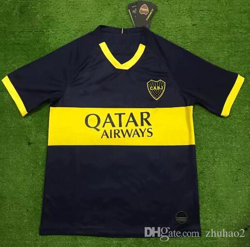 premium selection e5ad6 a9c0f 2019/2020 Boca Juniors Jersey 18 19 Boca Juniors GAGO OSVALDO CARLITOS  PEREZ Benedetto 7 Pavon Castellani 19/20 Football Shirt