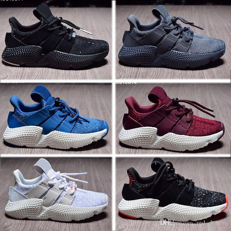 best authentic c07a6 885c6 BOY Girls Young eqt prophere Kid Running Sport Shoes children Sneaker  Size26-35