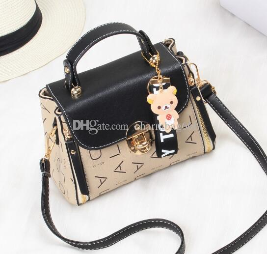 c954c22be3bd66 Hot Style Stylish Handbag Single-shoulder Slanted Straddle Bag ...
