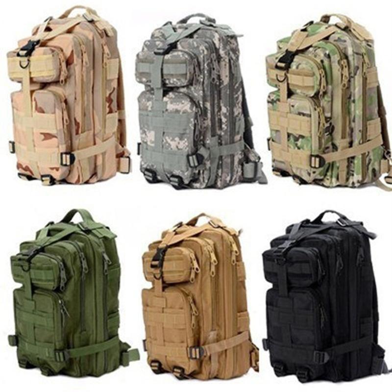84f7f93545b0 2019 1000D Nylon Waterproof Outdoor Military Rucksacks Tactical ...