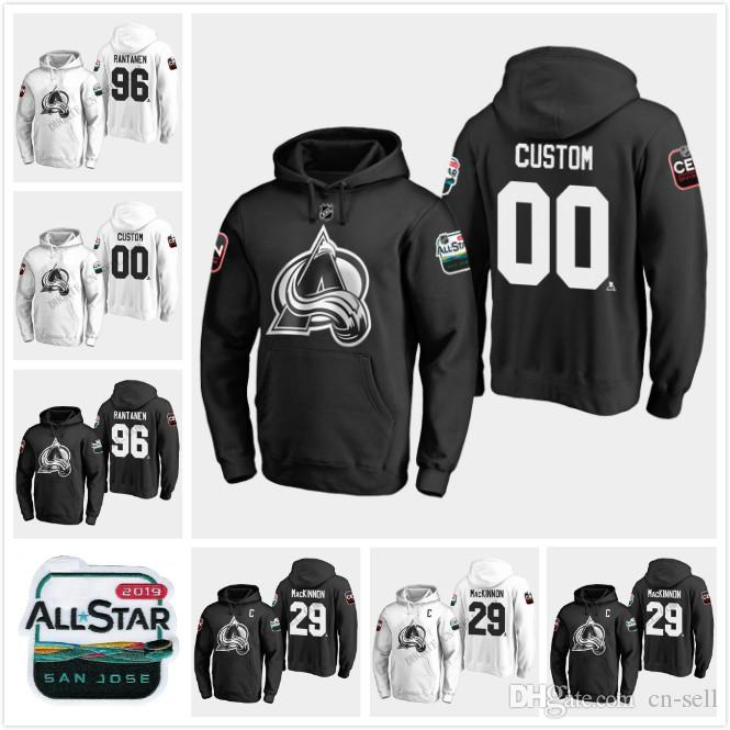 Colorado Avalanche 2019 All-Star Game Hoodie Jersey 29 Nathan ... b303faf04