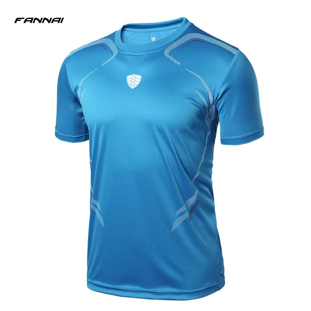 2019 Running T Shirt Men Fitness Tops Tees Quick Dry Shirts Trainning Short  Sleeve Printed Sport Shirt Sportswear From Qingfengxu 0d1aac041