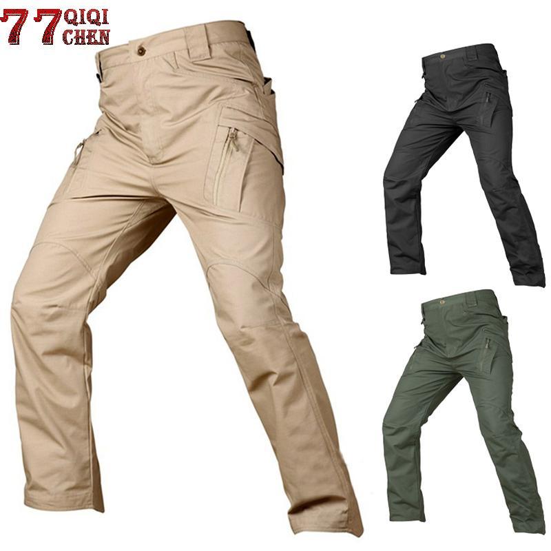 cae2e248d2 Compre IX7 IX9 Pantalones Tácticos Pantalones Cargo Hombres Pantalones  Casuales Pantalón De Trabajo Pantalon Estilo Militar Pantalon Holgado De  Combate ...