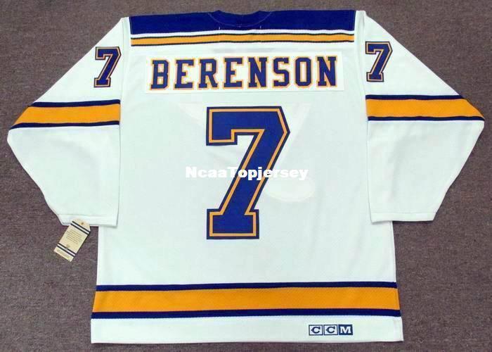 best loved 1ade5 41e40 custom Mens Jerseys RED BERENSON St. Louis Blues 1967 CCM Vintage Away  Cheap Retro Hockey Jersey