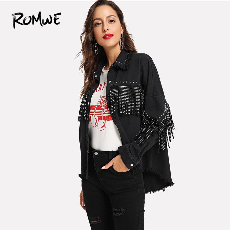 new styles 1b589 6ded3 Giacche Giacca Capispalla 2018 E Donna Borchie Da Monopetto ...