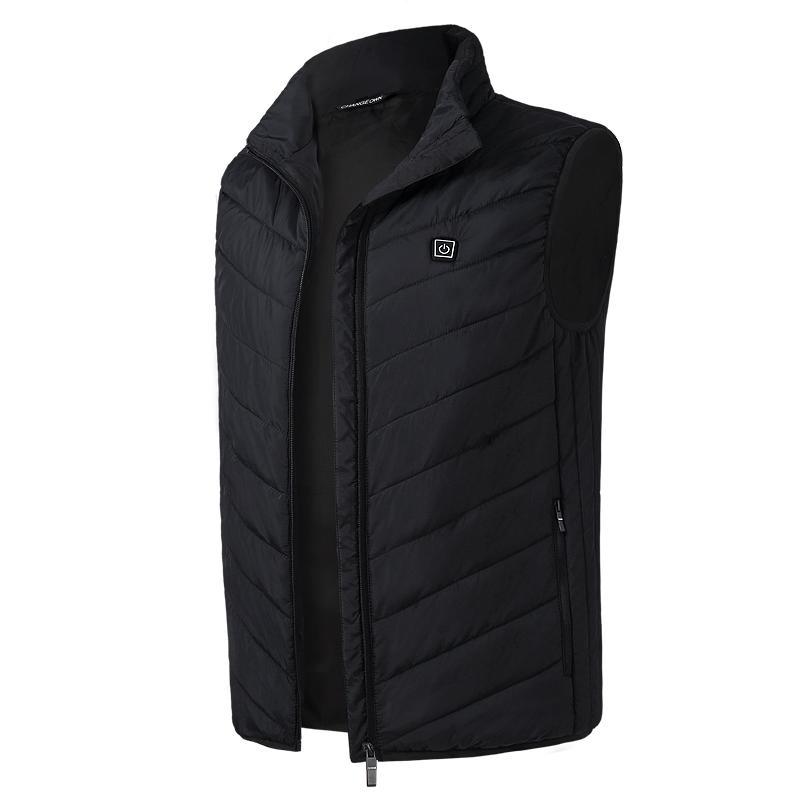 détaillant en ligne 4bede cad0b 2018 nouvelles vestes femmes gilet chauffant électrique gilet de chauffage  USB thermique vêtements chauds vente chaude manteau d'hiver Doudoune Femme  ...