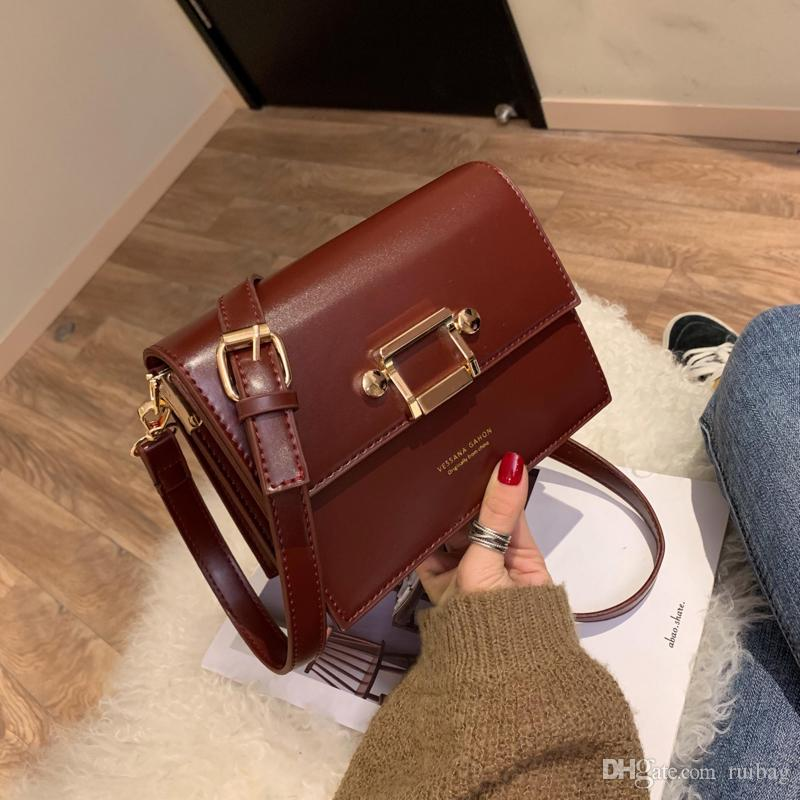 5fc181a0cd73 2019 New Fashion Bags Lady Messenger Bag Leather Bags Leather Bags ...