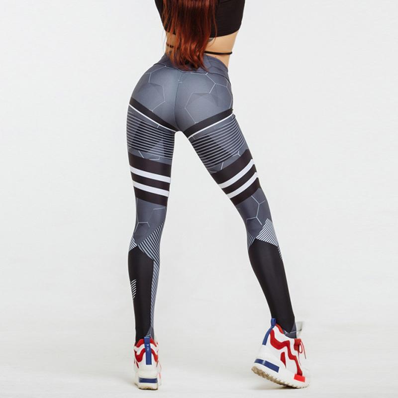 6a10255ad10df 2019 2018 New Running Pants Women Geometric Yoga Pants Women Fitness Sport  Leggings High Waist Yoga Leggings Athletics Sport Pants From Gosomo, ...