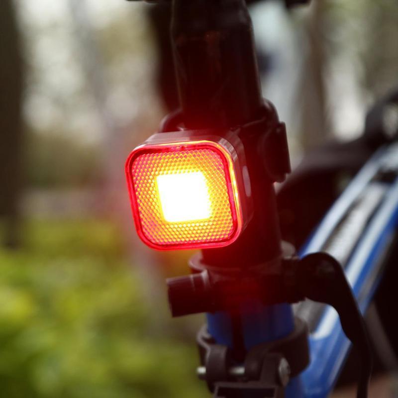 Süper Parlak Şarj Edilebilir 12 COB LED USB Dağ Bisikleti Kuyruk Işık Arka Lambası MTB Güvenlik Uyarı Bisiklet Arka Işık Bisiklet Lambası