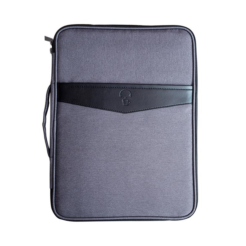 47567492cbf5 Multi-functional A4 Document Bags Portable Waterproof Men s Briefcases  Laptop Notebook Pouch Travel Passport Holder Accessories