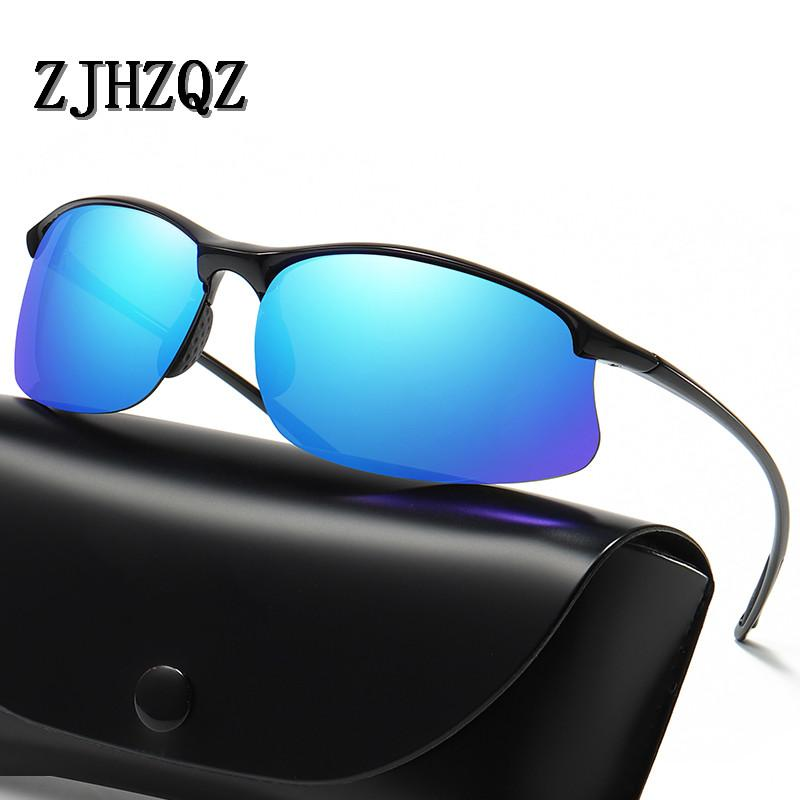 59b5d743eb1 ZJHZQZ Brand Classic Polarized Sunglasses Men Women Driving TR90 ...